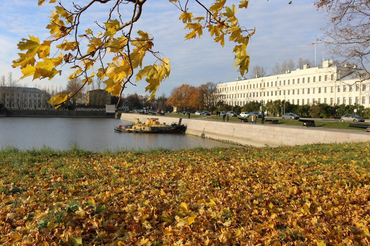 В осеннем городе - Ольга