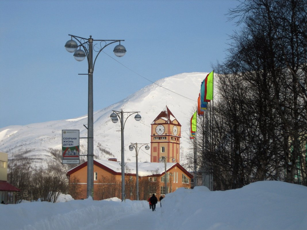 Зимний город - Ольга