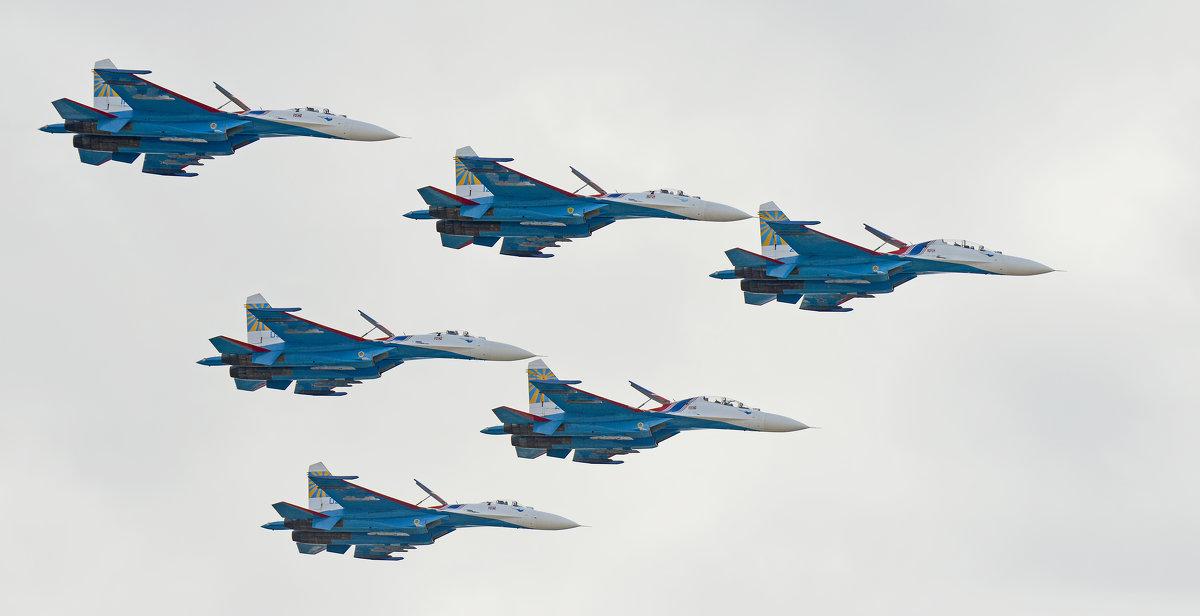 МАКС 2015 - Олег Савин