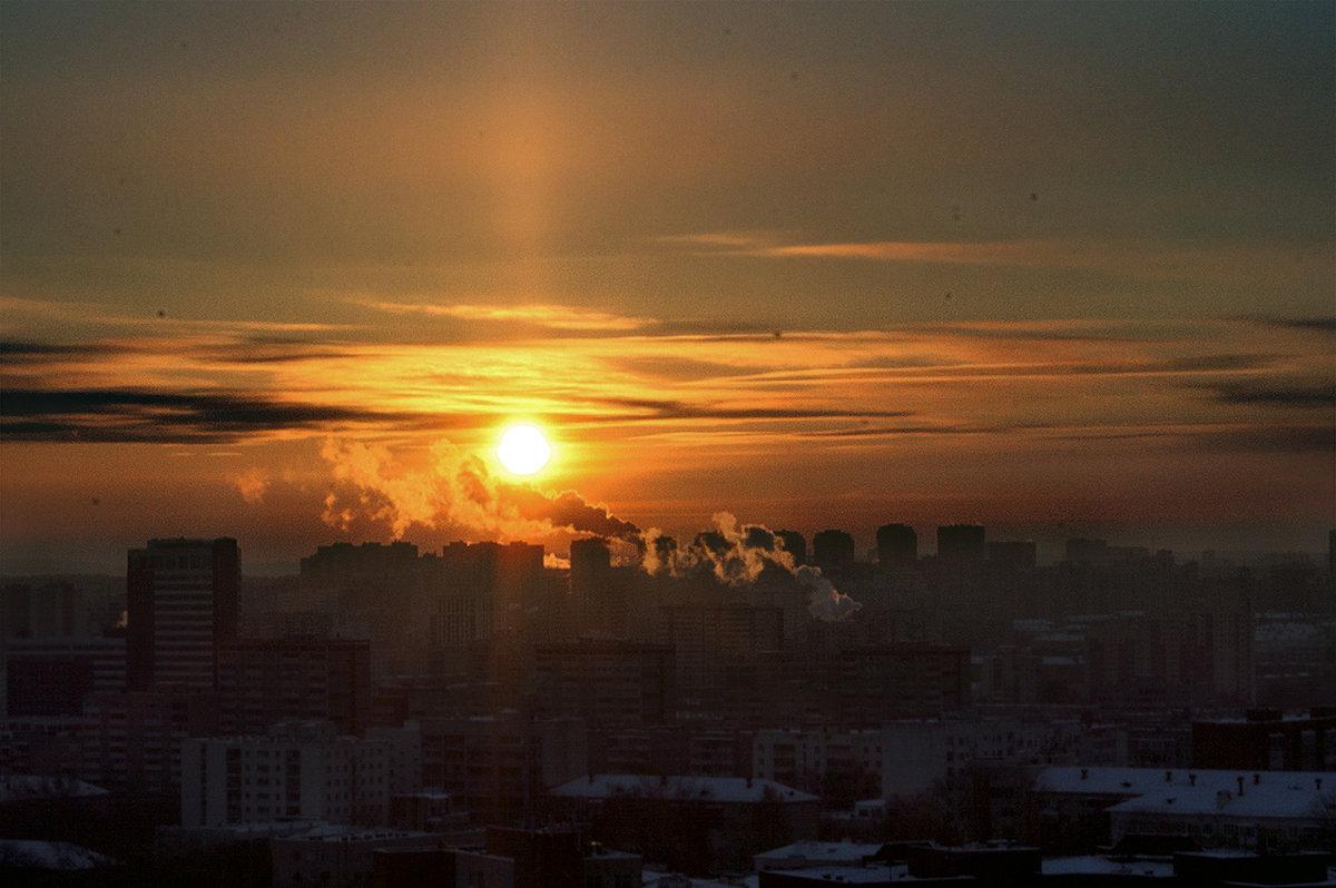 закат над городом - AlerT-STM 1