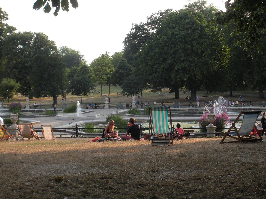 Знакомьтесь ! Это Лондон ! Пикник в  парке. - Виталий Селиванов