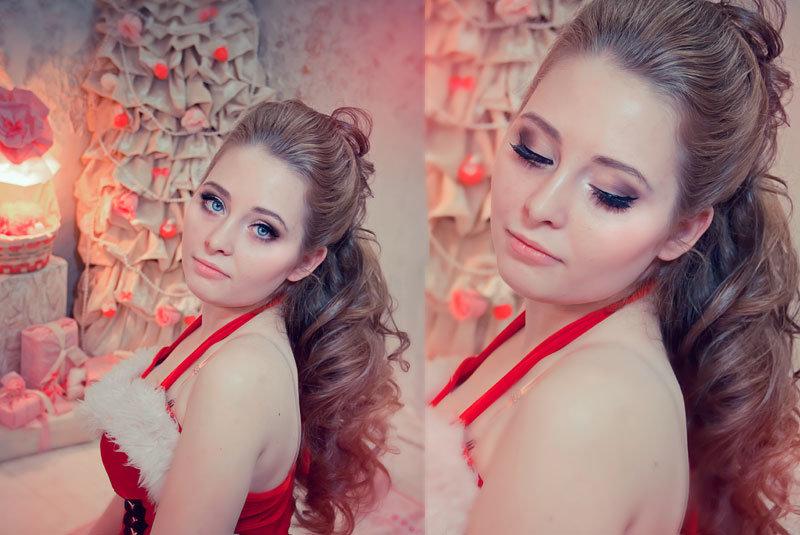 Фотосессия с макияжем и прической москва