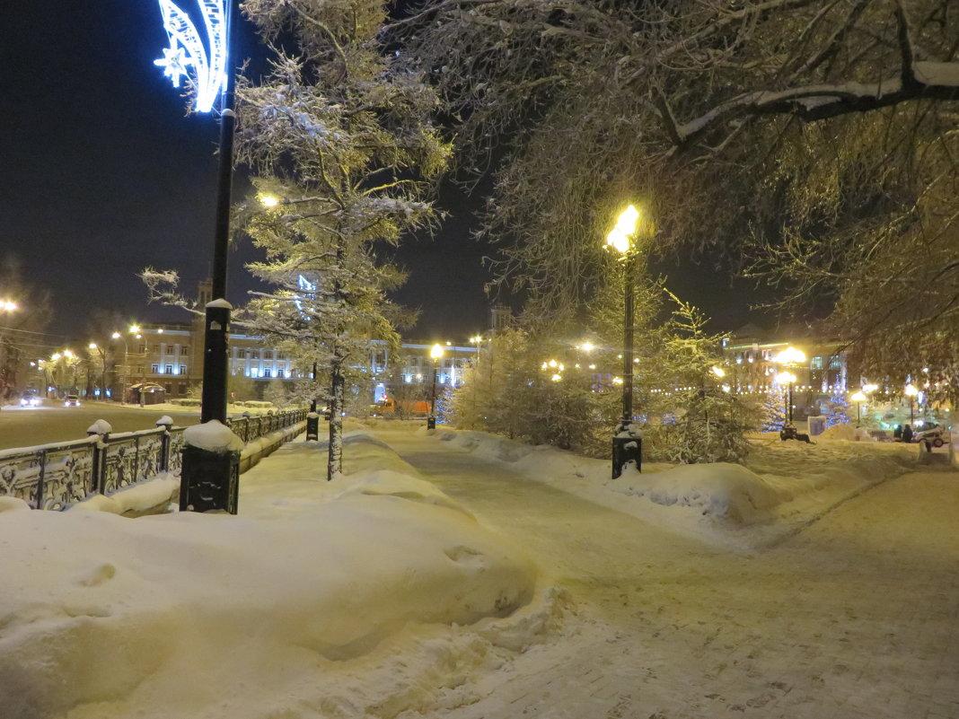 зимним вечером - Valery