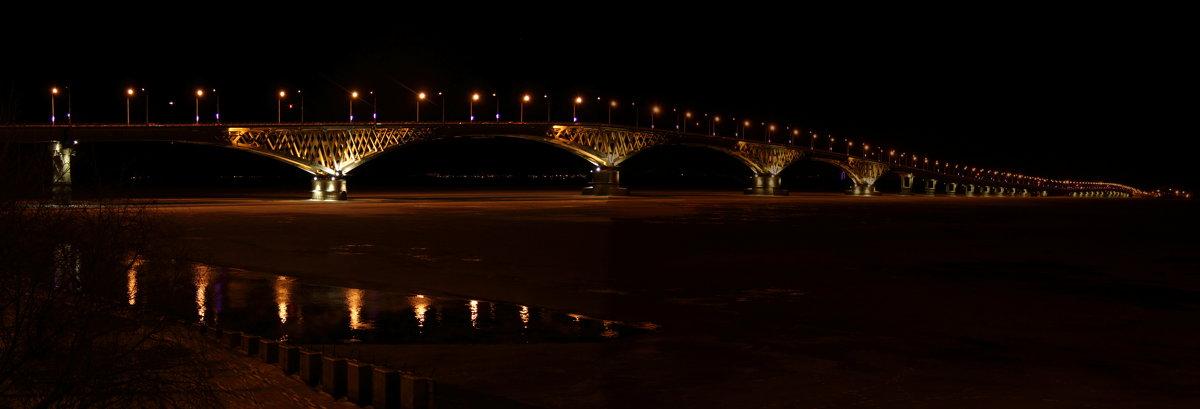 Саратов. Мост через Волгу - Андрей Щинов