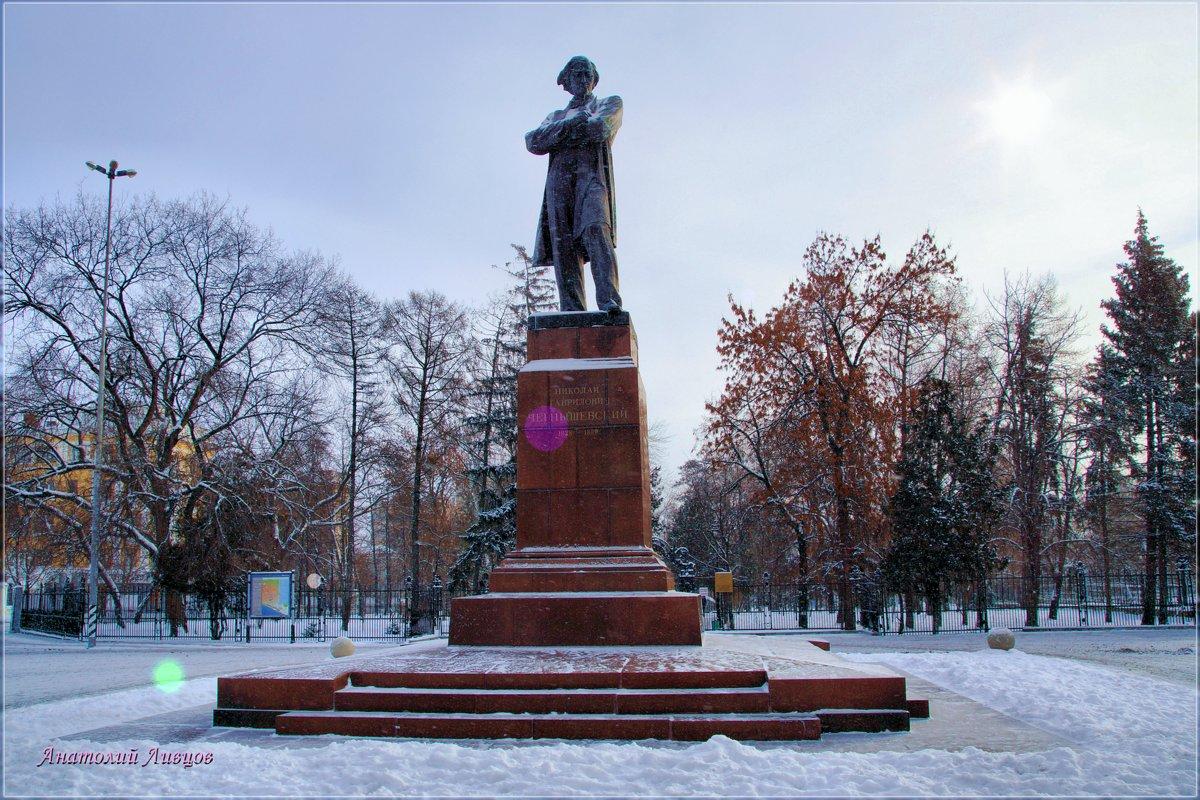 Памятник Н. Г. Чернышевскому. Что делать... зима. - Anatol Livtsov