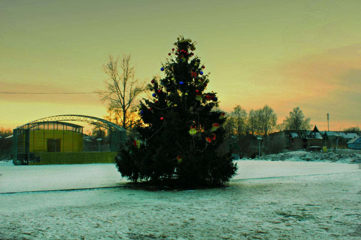 новогодняя ёлка - Сергей Кочнев