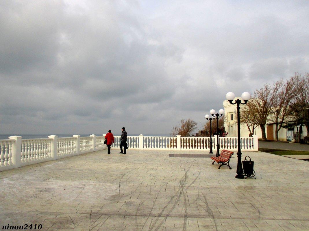 На набережной Высокий берег - Нина Бутко