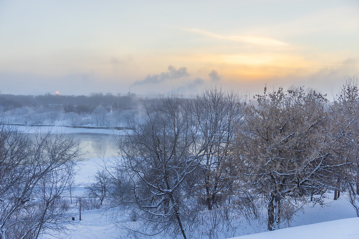 Морозное утро - Игорь Герман