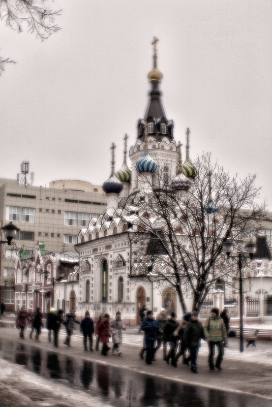 """Церковь """"Утоли моя печали"""" - Андрей Селиванов"""