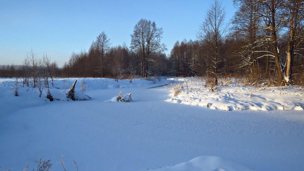 Зимняя река - Людмилаfdnjgjhpnhptn