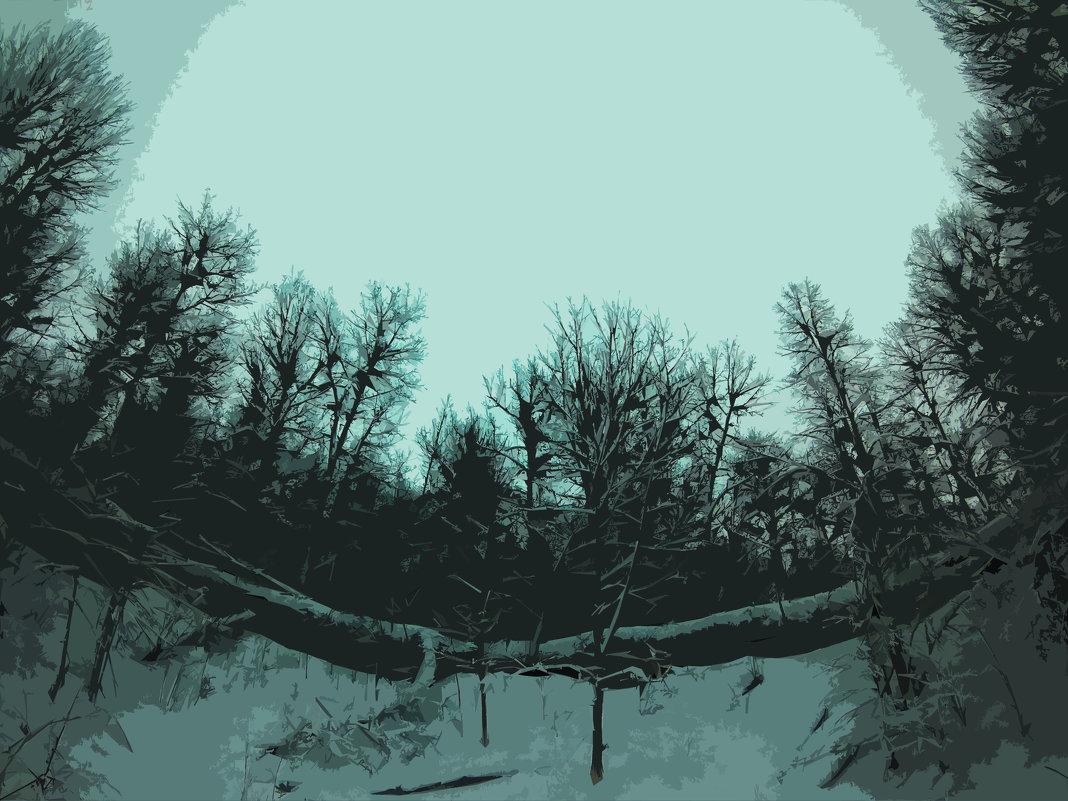 Лес , photoshop. - Franky Fraker