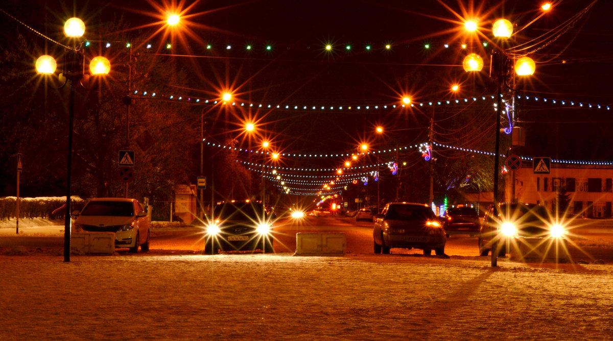 Ночной город - Валентина