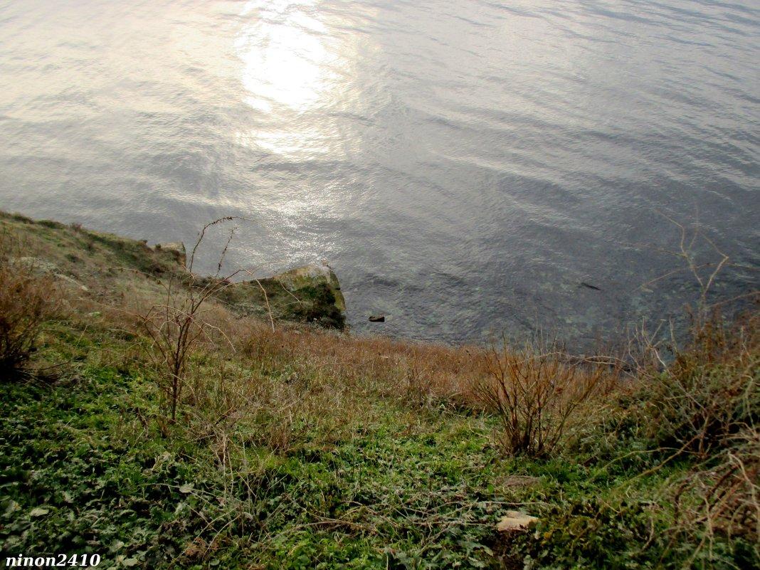 Анапа. Вид на море с набережной Высокий берег - Нина Бутко