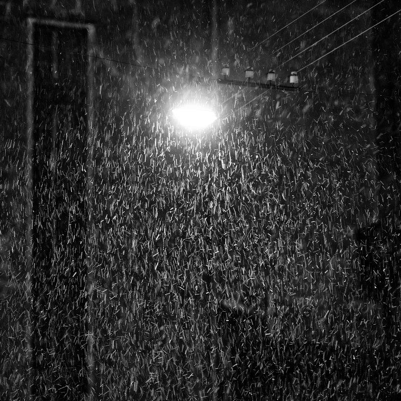 Снегопад. - Игорь