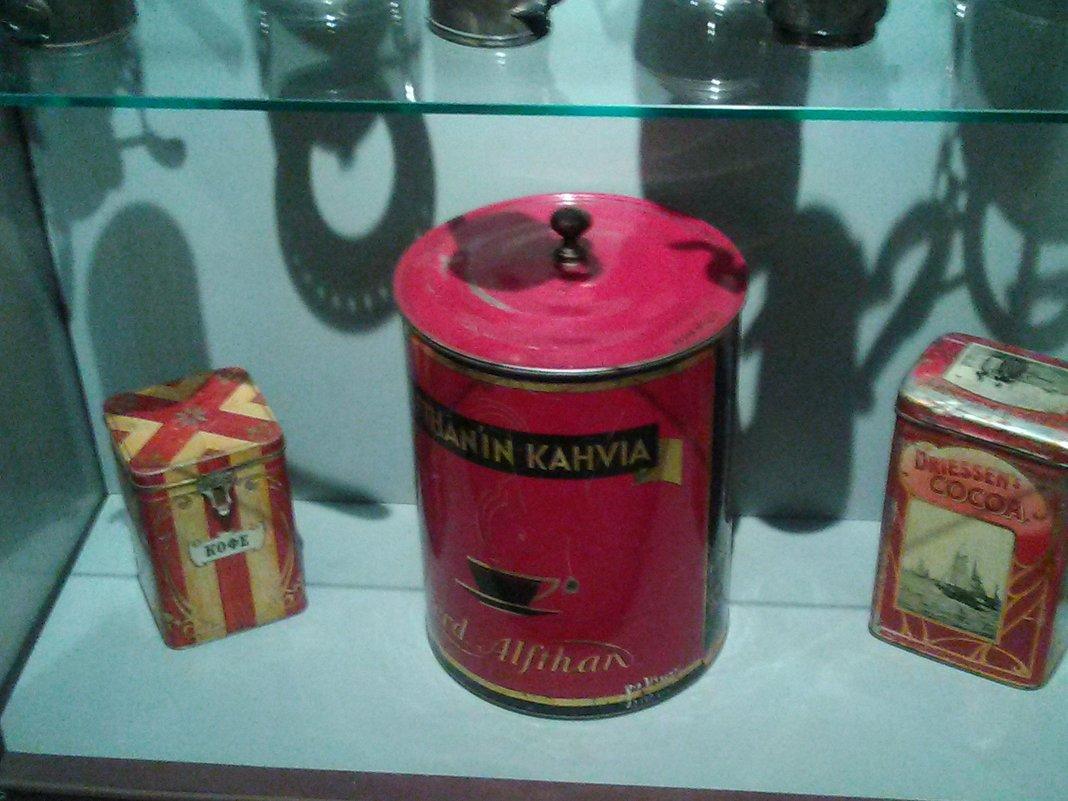 Кофе в упаковке начала 20 века. (музей Петропавловская крепость). - Светлана Калмыкова