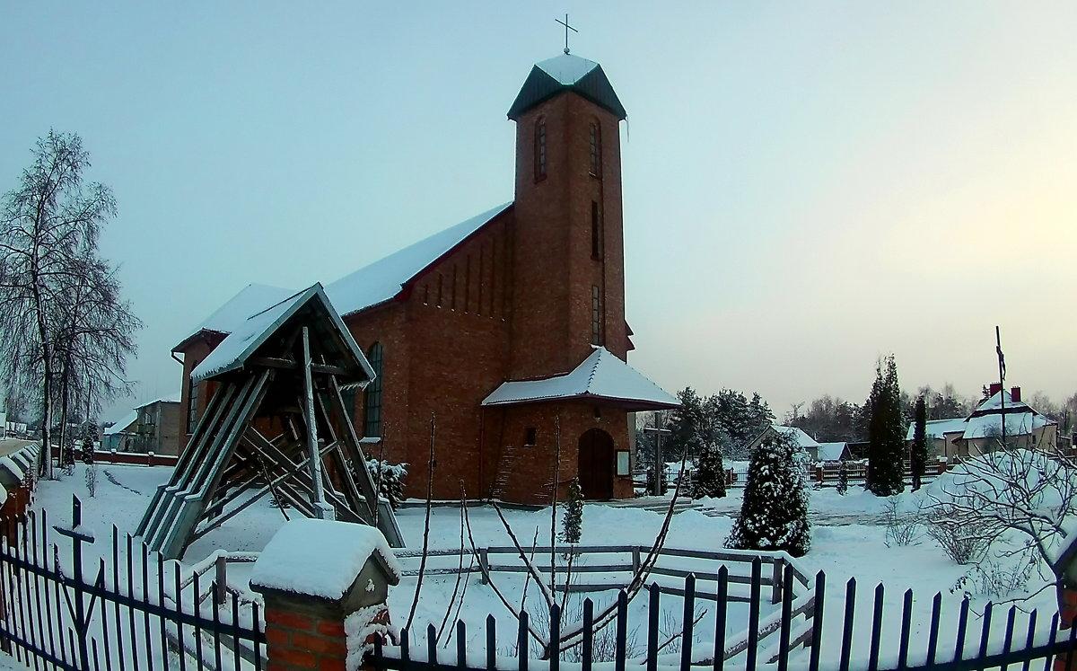 Костел в г.Берёзовка, Гродненская область - Сергей F