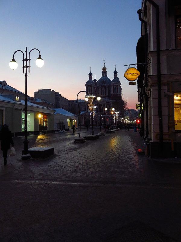 Зимний вечер в городе - Андрей Лукьянов