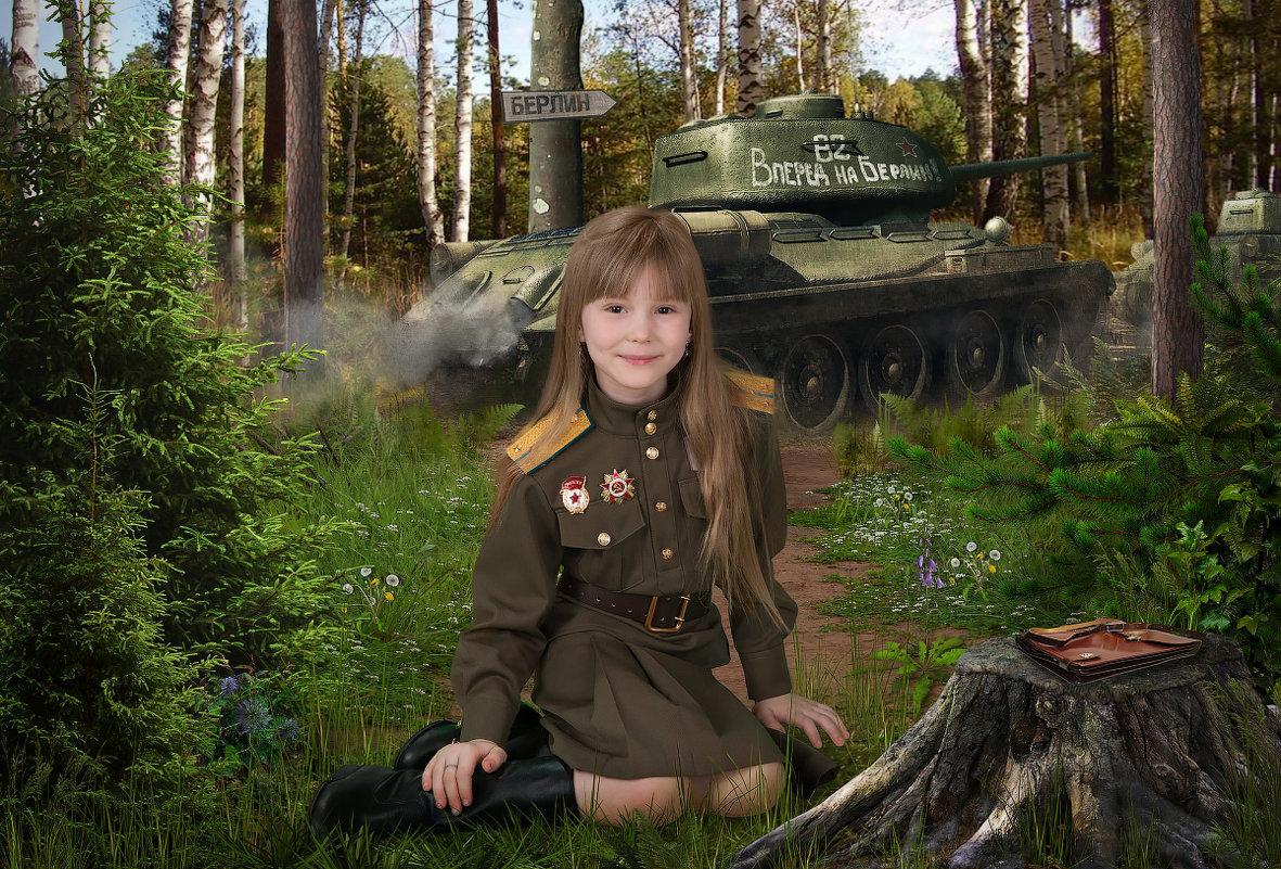 детский коллаж - Евгений Наместников