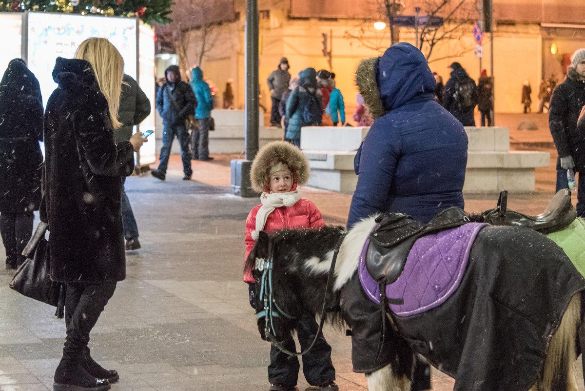 """ А лошадке холодно?"" - Владимир Безбородов"