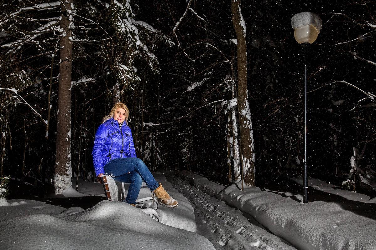 Зима в поселке - Андрей Качин