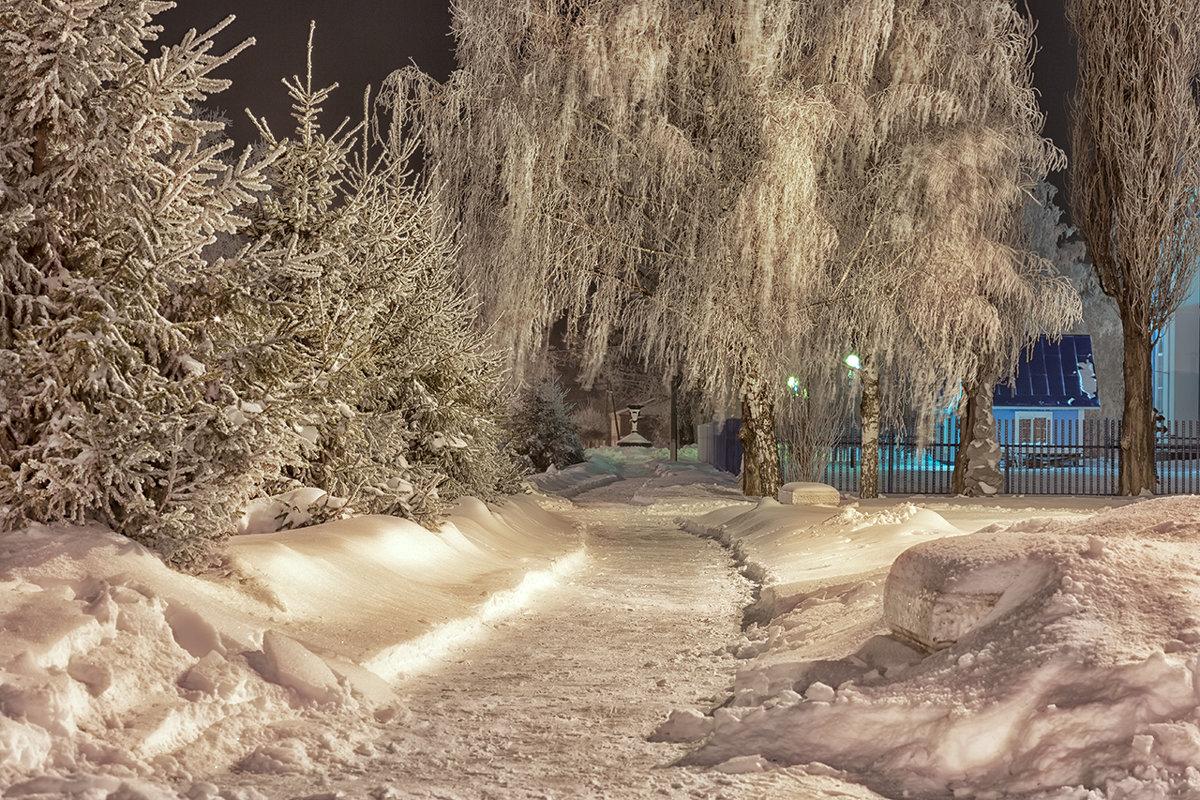 Ночной иней - Сергей