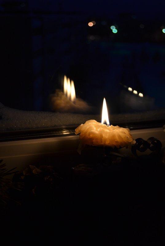 Свеча горела на столе... - Ольга