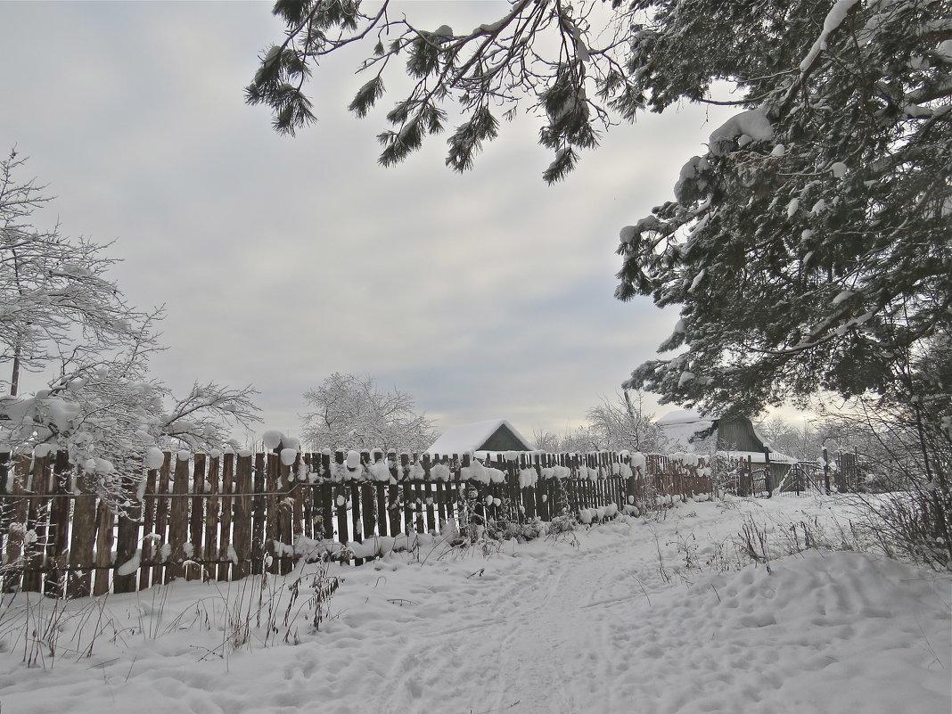 зимний пейзаж - НАТАЛЬЯ