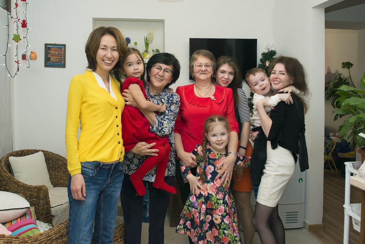 А вот так мы встретили Новый год) - Элеонора Флаум