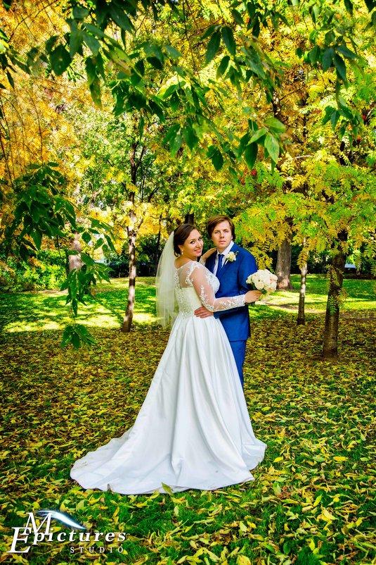 свадебная фотосессия в парке горького - Егор Чеботаренко
