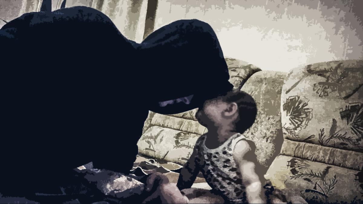 Я и племянница. - Franky Fraker
