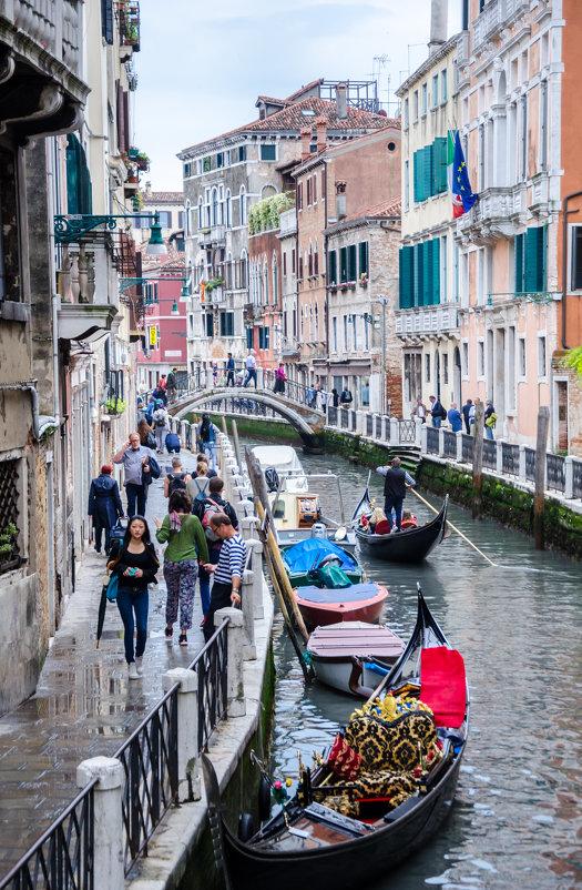 Канал в Венеции - Наталия