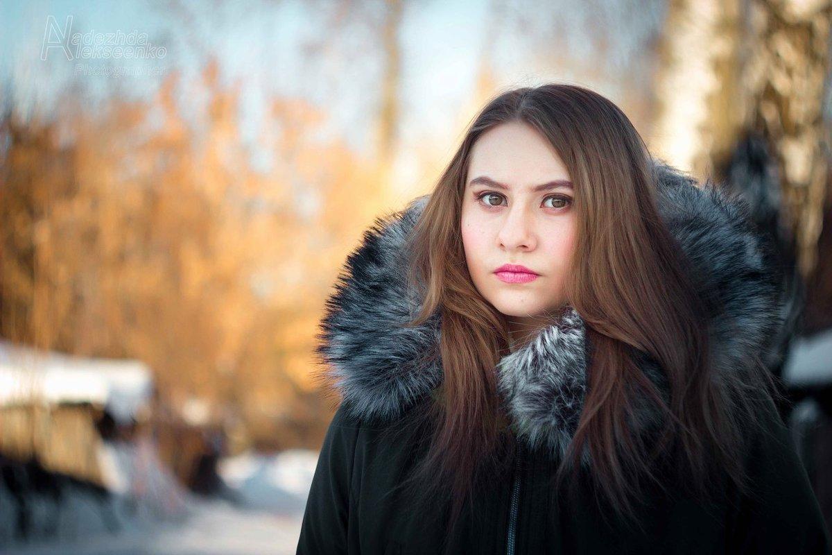 Зимняя - Надежда Алексеенко