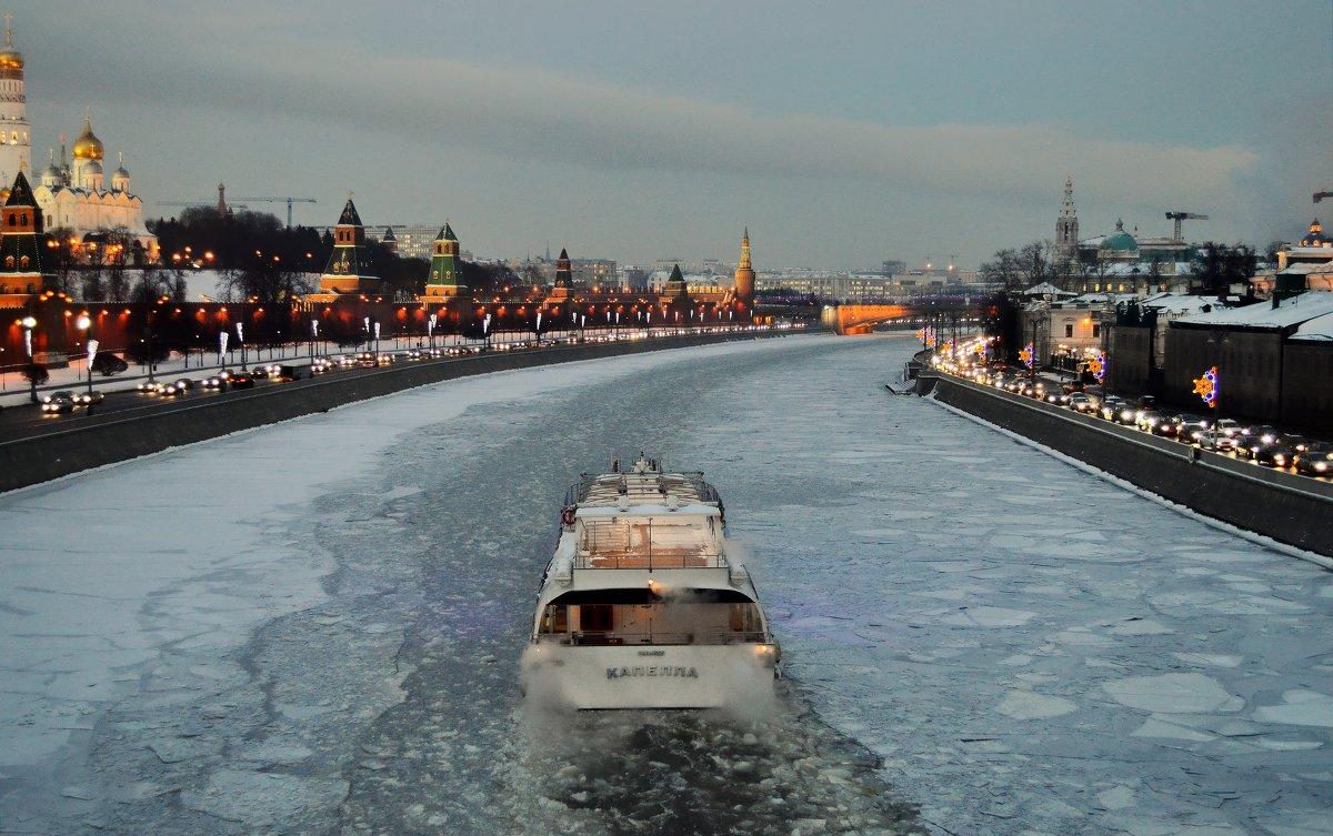 По зимней Москве-реке - Olcen - Ольга Лён
