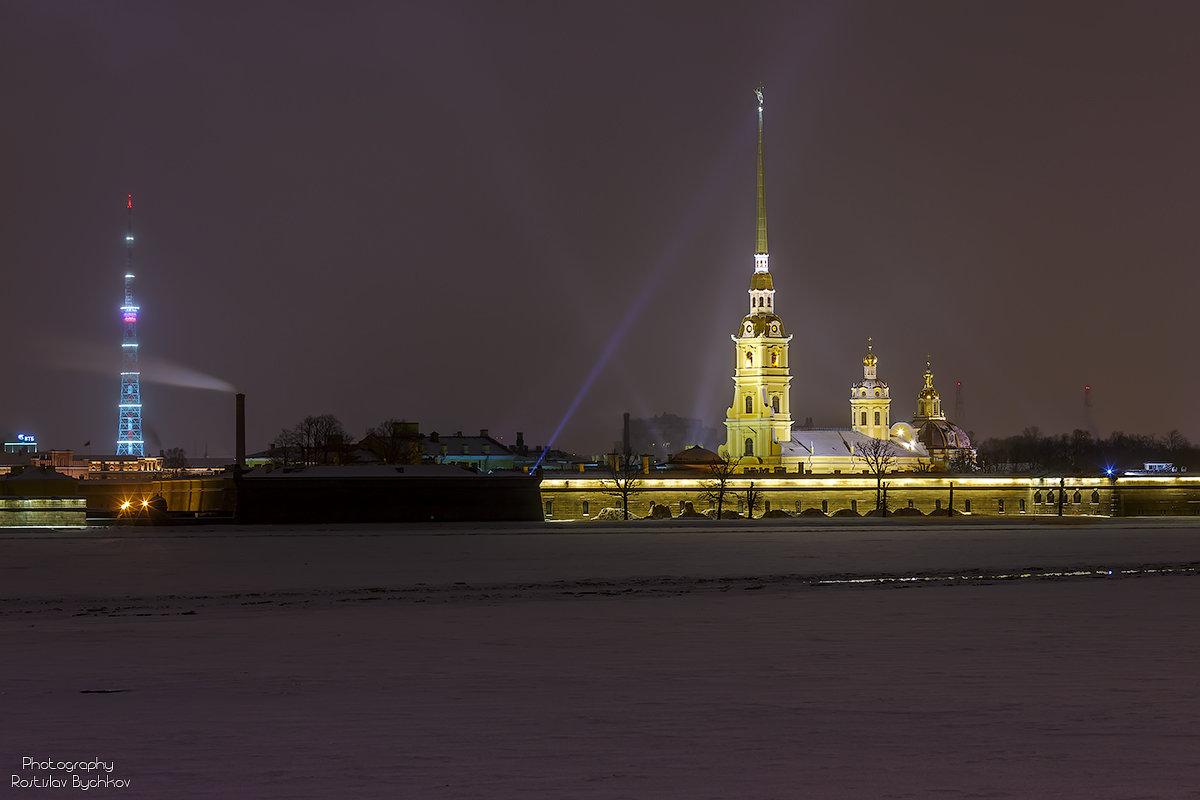 Новогодний Петербург - Ростислав Бычков