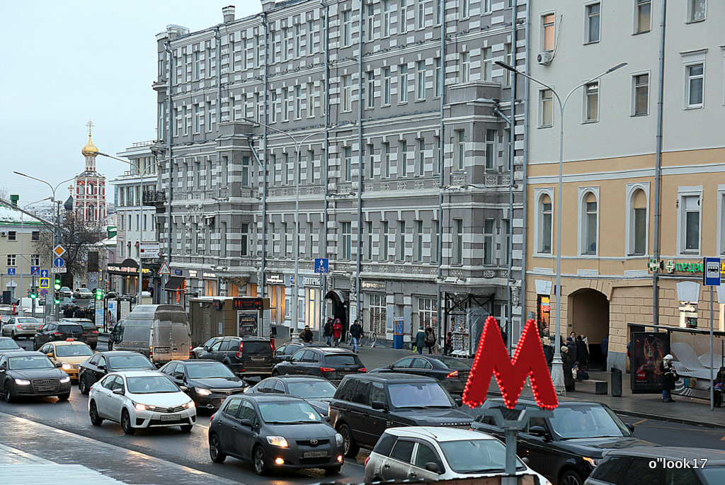 зимние ритмы города - Олег Лукьянов
