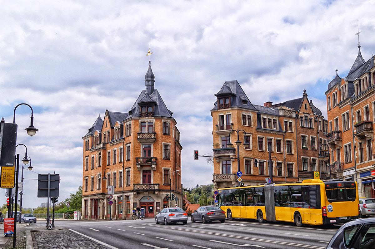 Улицы Дрездена. - Alex