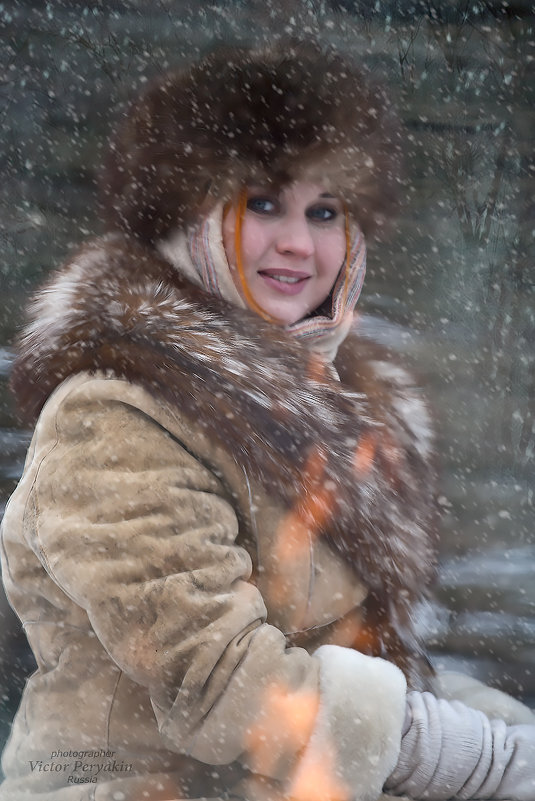 снежно.... - Виктор Перякин