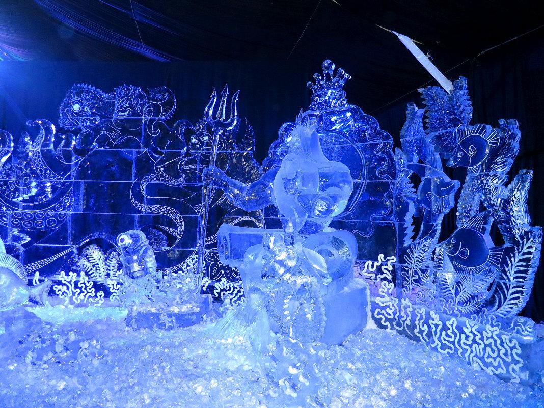 """ФЕСТИВАЛЬ ЛЕДОВЫХ СКУЛЬПТУР """"ICE FANTASY"""" - Валентина Жукова"""