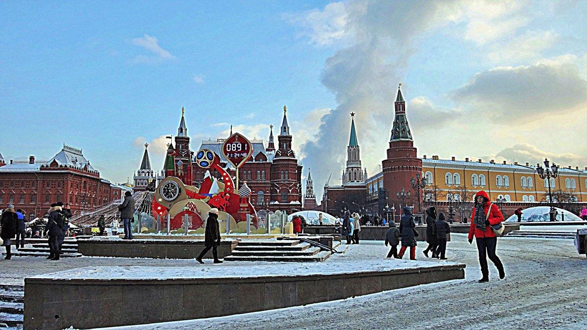 Москва Новогодняя. - Лара ***