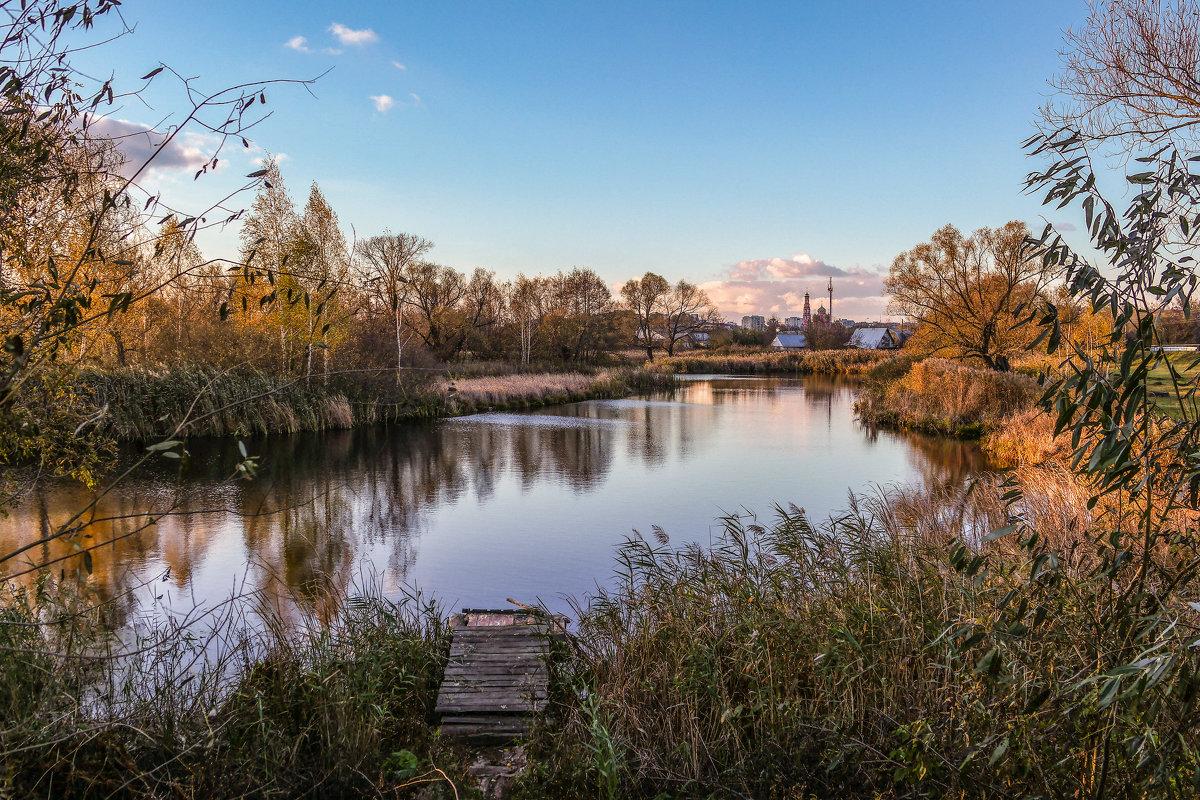 Осенний пруд. - Александр Селезнев