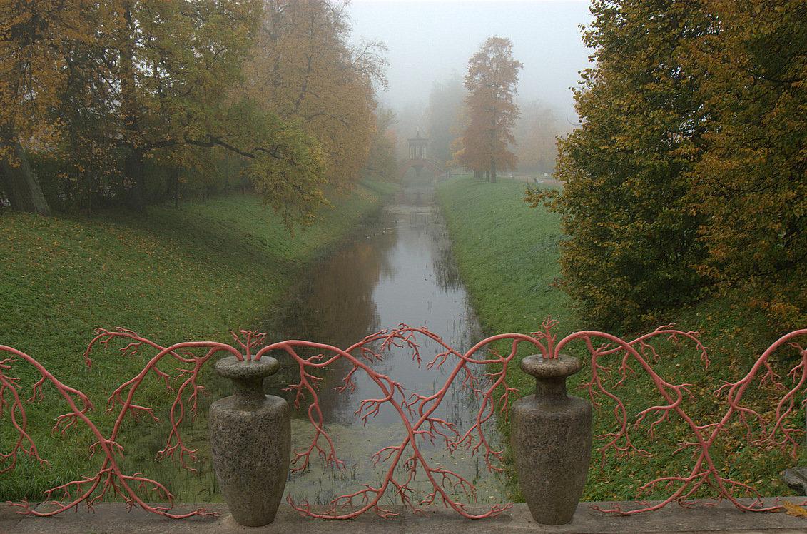 Крестовый мост в парке г.Пушкин - Наталья