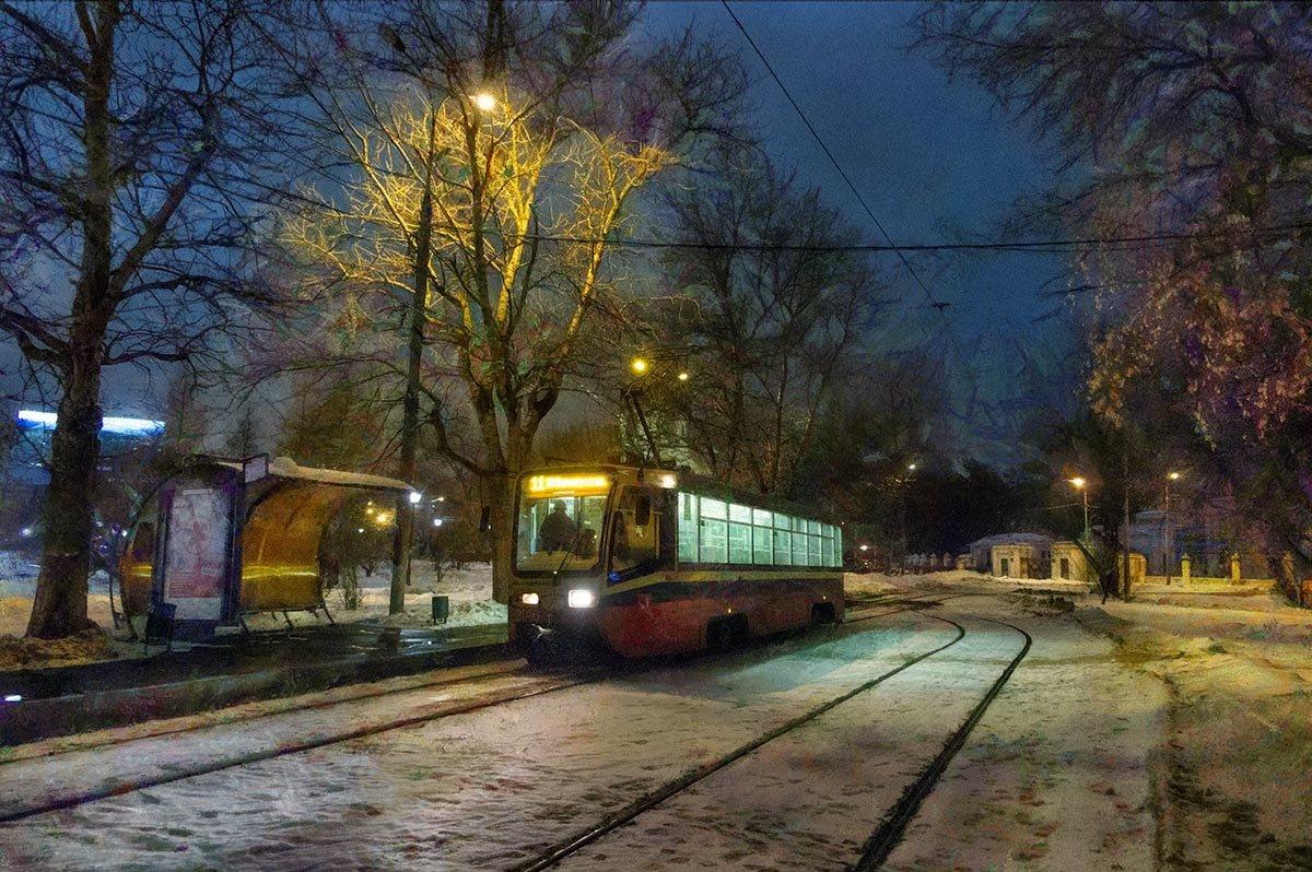 А рельсы, словно нити Ариадны, из тупика ведут трамвай к тебе… - Ирина Данилова