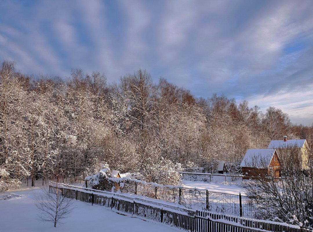 Зима на дачах - Александр