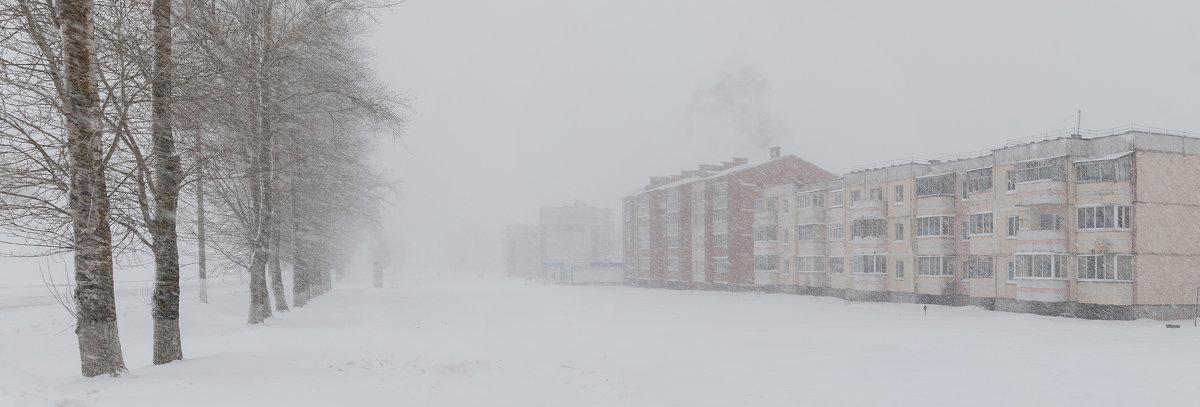 Январьская панорама. - Анатолий Клепешнёв