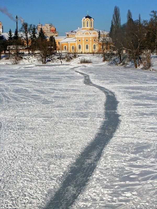 По льду к Храму - Сергей Тарабара