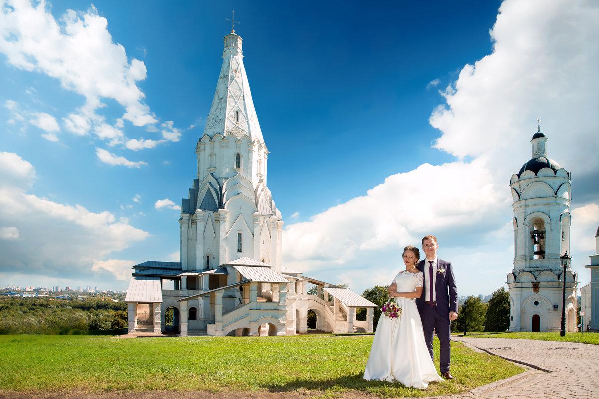 Жених и Невеста в парке Коломенское - Егор Чеботаренко