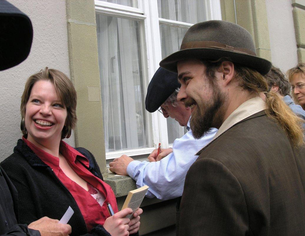 Читатели и писатель - Tanja Gerster