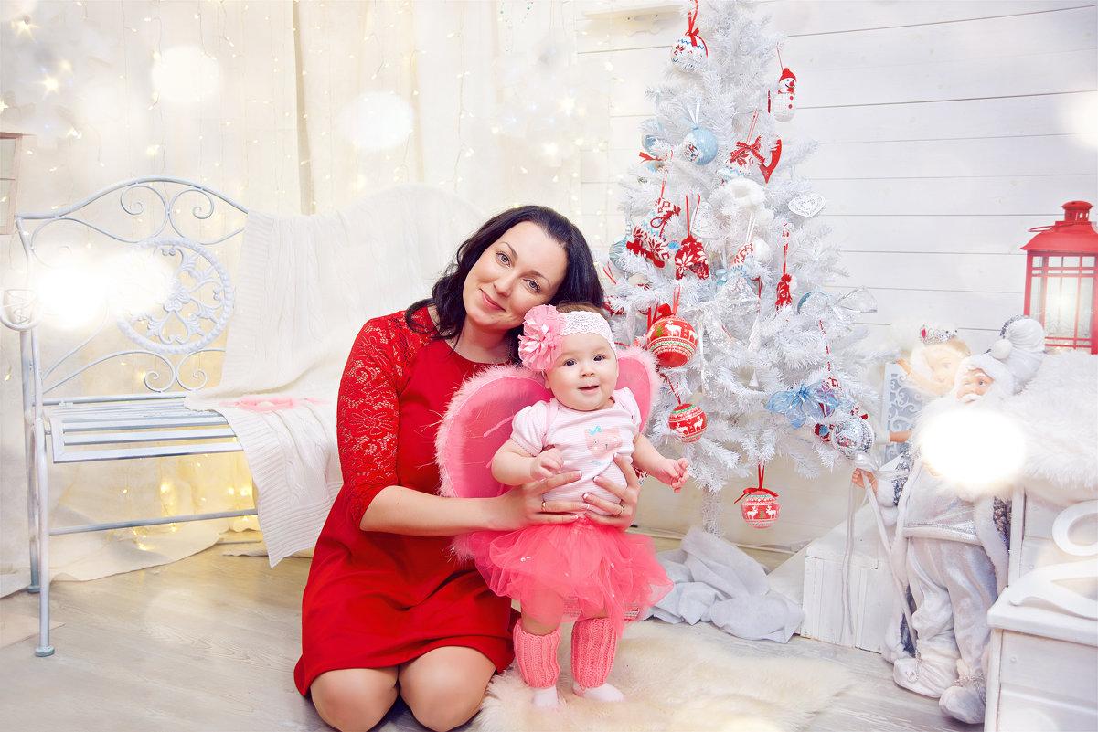 Мама с дочкой - марина алексеева