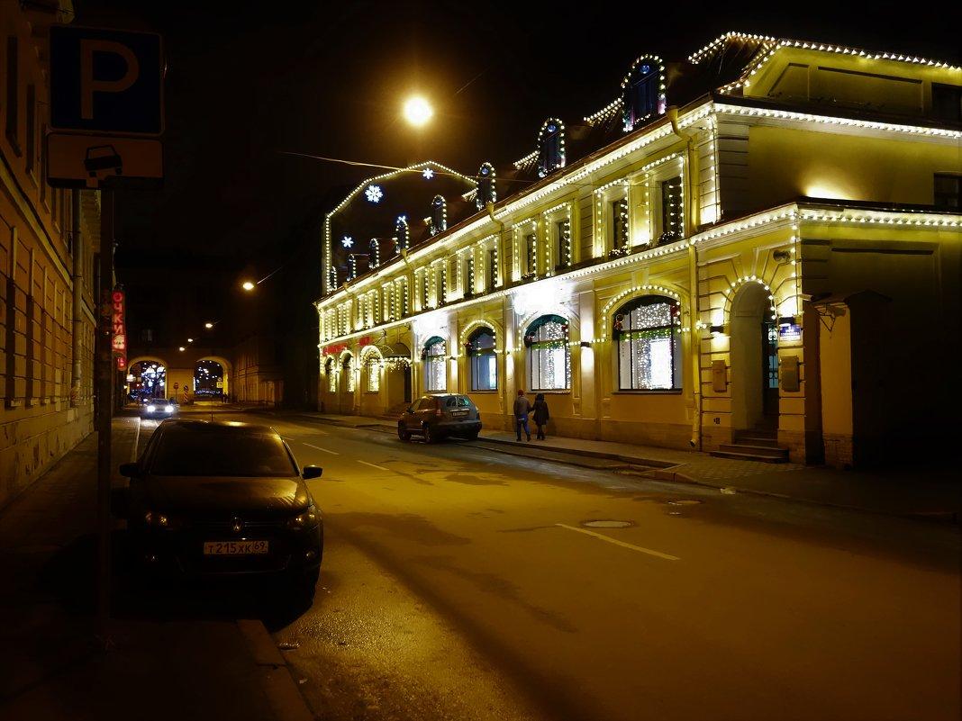 Вечером на улице Ломоносова... - Sergey Gordoff