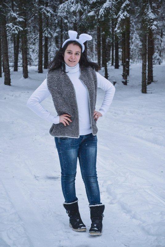 Зимняя фотосессия - Елена Гордон